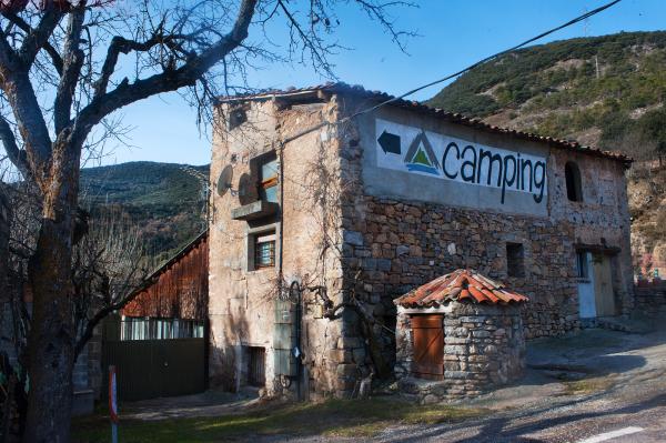Entrada al Camping